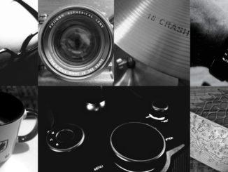 7 Tage schwarz/weiss Challenge - Collage