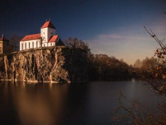 Bergkirche Beucha - Foto am Nachmittag