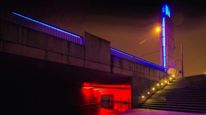 Innenstadt Leipzig Kanal