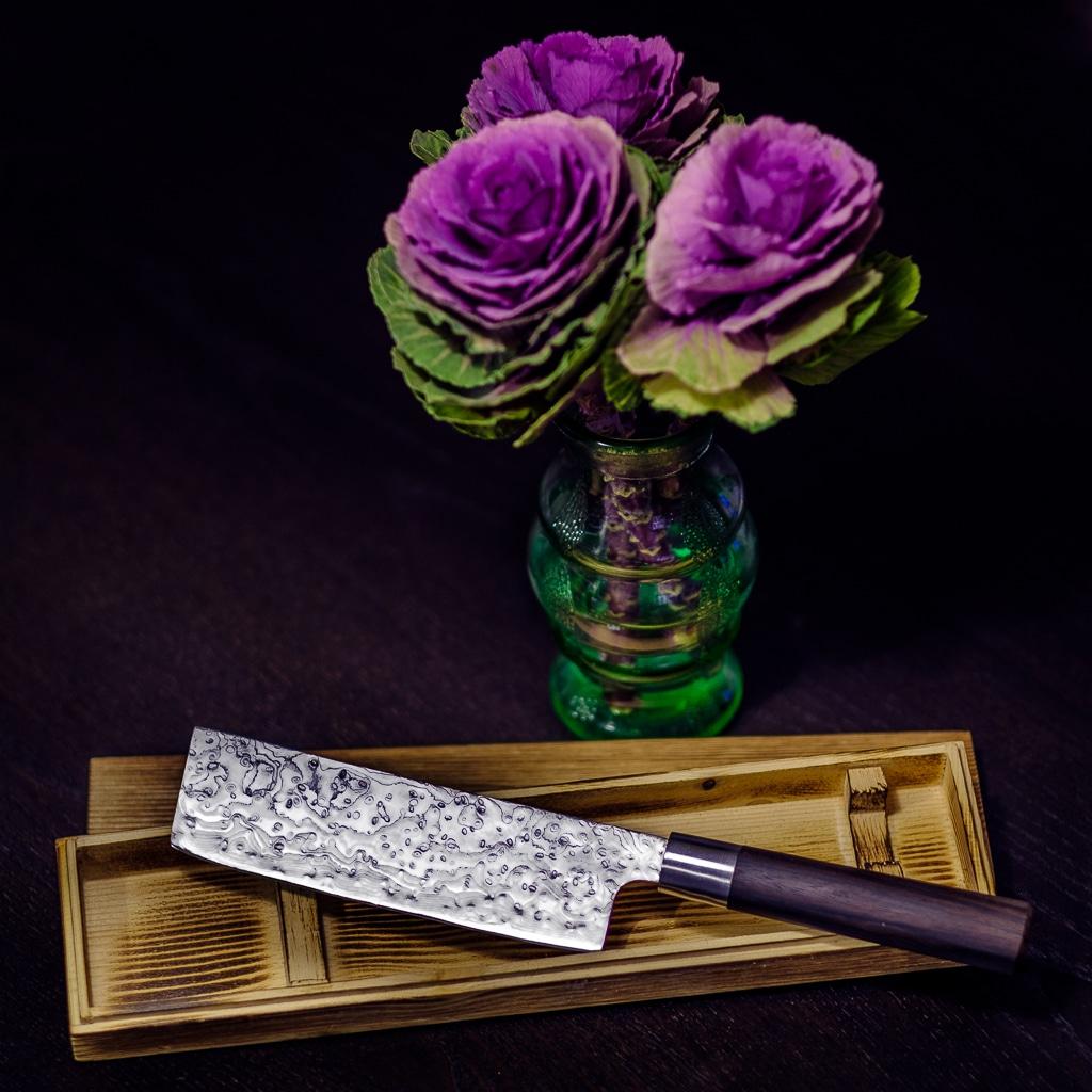 Rosendamast Messer - Neues Messer für den Hobbykoch. Weihnachten naht und das Auge kocht ja mit.