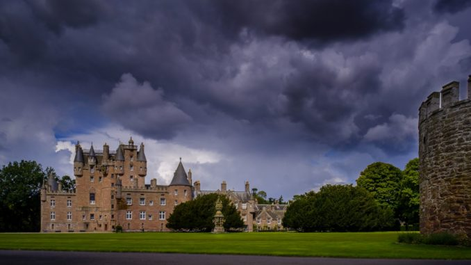 Glamis Castle in Schottland